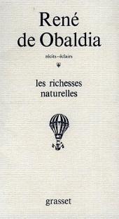 Les richesses naturelles