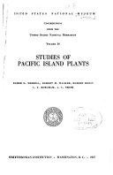 Contributions from the United States National Herbarium PDF