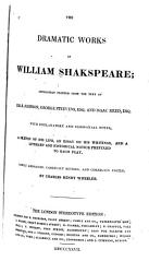 The Dramatic Works Of William Shakspeare Book PDF