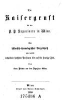 Die    Kaisergruft bei den P  P  Kapuzinern in Wien PDF