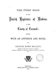 The First Book of the Parish Registers of Madron  in the County of Cornwall PDF