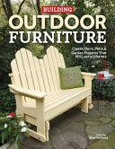 Building Outdoor Furniture PDF