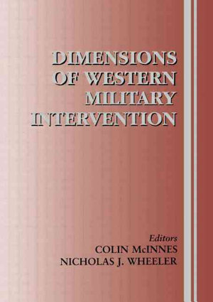Dimensions of Western Military Intervention PDF