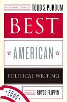 Best American Political Writing 2008 PDF