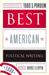 Best American Political Writing 2008 PDF