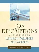 Job Descriptions and Duties for Church Members and Workers