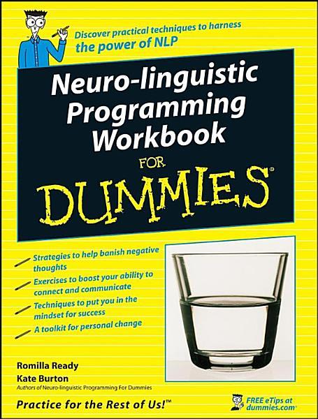 Neuro Linguistic Programming Workbook For Dummies