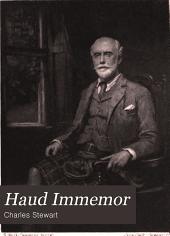 Haud Immemor: Reminiscences of Legal and Social Life in Edinburgh and London, 1850-1900