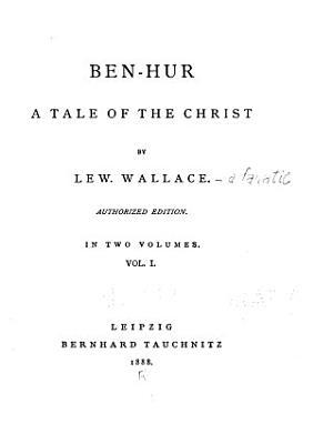 Ben Hur  a Tale of the Christ PDF