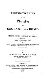 A Comparative View of the Churches of England and Rome