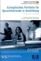 Europ  isches Portfolio f  r Sprachlehrende in Ausbildung PDF