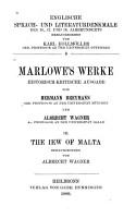 The Jew of Malta PDF