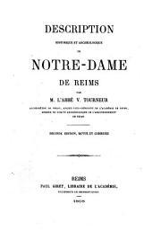 Description historique et archéologique de Notre-Dame de Reims