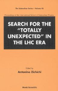 Search for the  totally Unexpected  in the LHC Era PDF