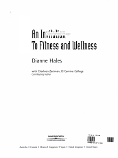 An Invitation to Fitness and Wellness PDF