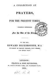 A collection of prayers for the present times