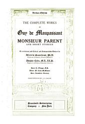 The Complete Works of Guy de Maupassant: Volume 2