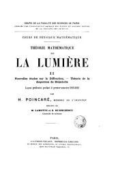 Théorie mathématique de la lumière
