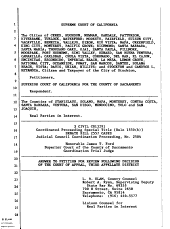 California. Supreme Court. Records and Briefs: S027144, Answer to Petition for Review (Supreme Court)