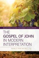 The Gospel of John in Modern Interpretation PDF