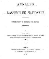 Annales de l'Assemblée nationale: Compte-rendu in extenso des séances..., Volume26