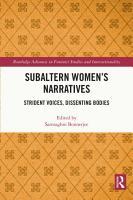 Subaltern Women   s Narratives PDF