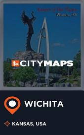City Maps Wichita Kansas, USA
