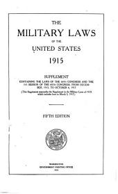 Military laws of the United States (Army)