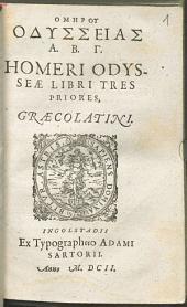 Homeri Odyssea: libri 3. priores