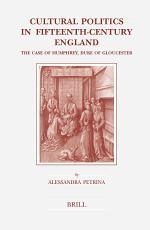Cultural Politics in Fifteenth-Century England
