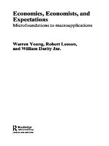 Economics  Economists and Expectations PDF