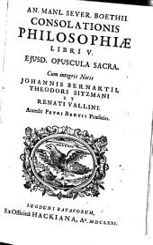 Consolatio Philosophiae: Libri 5