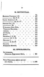 Analekta Hellēnika meizona: sive, Collectanea Graeca majora ...