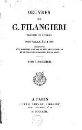 Oeuvres de G. Filangieri: Volume1