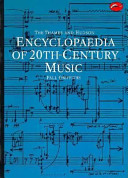 The Thames and Hudson Encyclopaedia of 20th century Music PDF