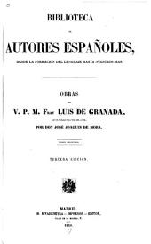 Obras del v. p. m. fray Luis de Granada: Volumen 8