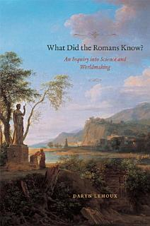 What Did the Romans Know  Book
