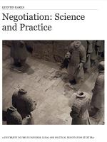 Negotiation: Science and Practice