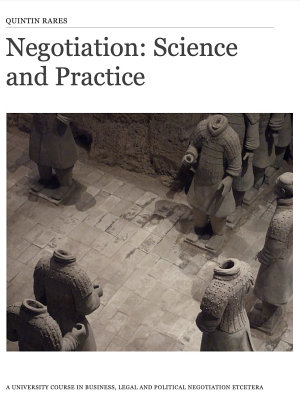 Negotiation  Science and Practice