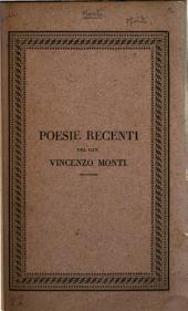 Poesie recenti