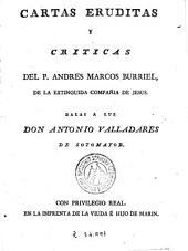 Cartas eruditas y criticas
