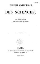 Théorie catholique des sciences