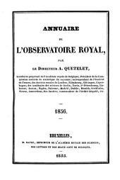 Annuaire de l'Observatoire Royal de Bruxelles: Volume23