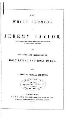 The Whole Sermons of Jeremy Taylor     PDF