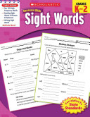 Scholastic Success with Sight Words Book