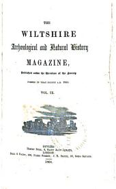 The Wiltshire Archæological and Natural History Magazine