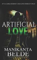 Artificial Love Novel Book