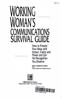 Working Woman s Communications Survival Guide PDF