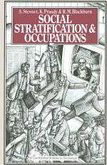 Social Stratification and Occupations