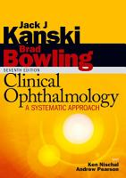 Clinical Ophthalmology  A Systematic Approach PDF